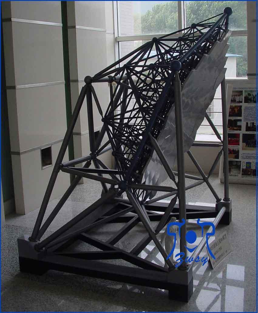 反射施密特望远镜模型
