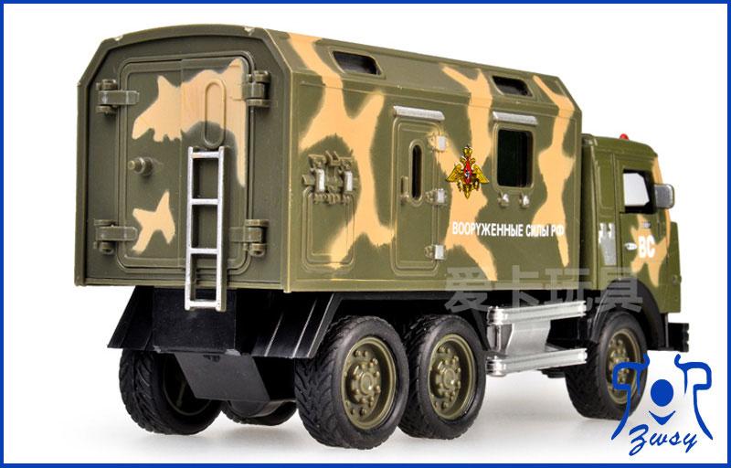 军用卡车模型2