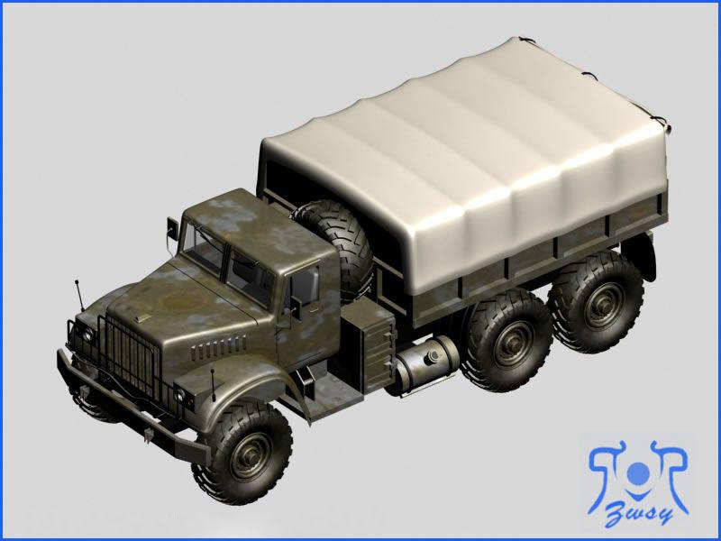 军用卡车模型1