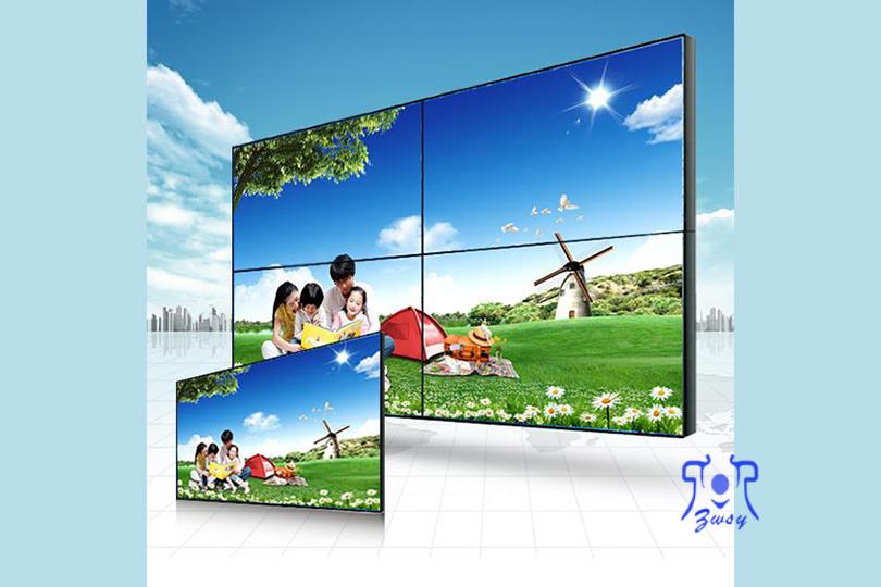 55寸大屏幕液晶拼接屏无缝拼接