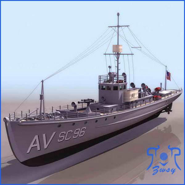 军舰模型1