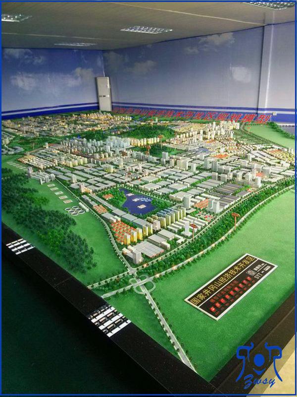 城市规划数字沙盘模型1