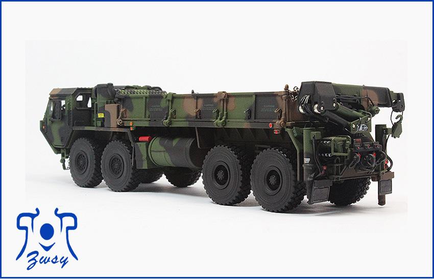 军用卡车模型3