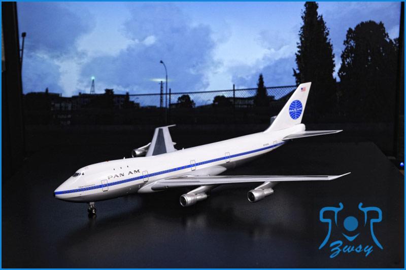 波音747-100系列运输机模型 大型飞机模型